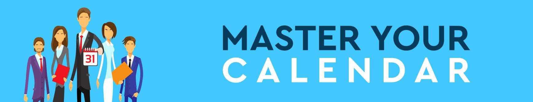 Master Your Calendar - banner